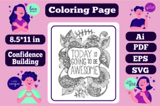 Print on Demand: Confidence Building Mandala for Adults 2 Graphic Coloring Pages & Books Adults By KDP_Interior_101