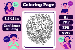 Print on Demand: Confidence Building Mandala for Adults 4 Graphic Coloring Pages & Books Adults By KDP_Interior_101