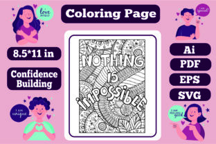 Print on Demand: Confidence Building Mandala for Adults 7 Graphic Coloring Pages & Books Adults By KDP_Interior_101