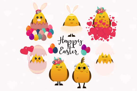Easter Chicken Svg, Bird Clipart Graphic Illustrations By Igraphic Studio