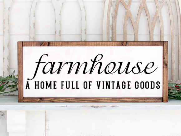 Farmhouse SVG Cut File Cricut Graphic Crafts By Farmstone Studio Designs