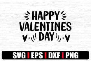 Print on Demand: HAPPY VALENTINES DAY Graphic Crafts By svg.in.design