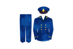 Blue Royal Navy Uniform Military Craft Cut File By Creative Fabrica Crafts