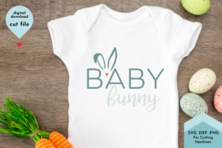 Print on Demand: Baby Bunny - Kids Shirt Easter Graphic Crafts By Lettershapes