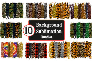 Bundles Distressed 10 Background Graphic Backgrounds By DenizDesign