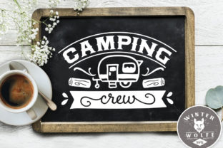 Camping Crew SVG DXF PNG EPS   Graphic Crafts By WinterWolfeSVG