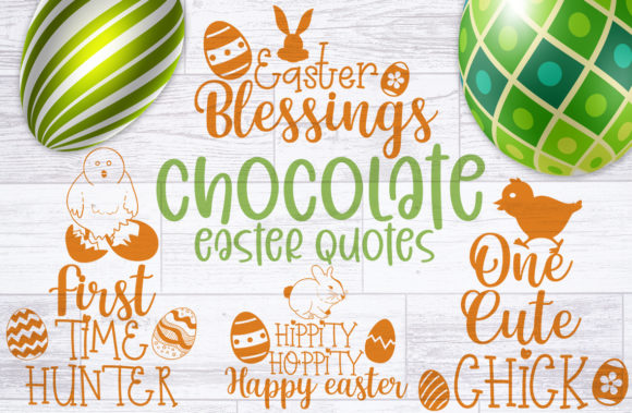 Chocolate Easter Quotes Graphic Crafts By Firefly Designs