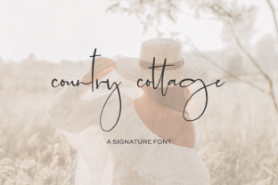 Print on Demand: Country Cottage Script & Handwritten Font By BeckMcCormick