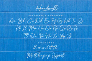 Print on Demand: Handswell Script & Handwritten Font By Ghuroba Studio