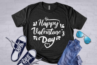 Happy Valentine's Day Graphic Print Templates By Glyphs Store