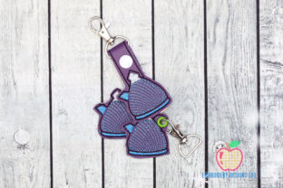 Home Kitchen Kettle ITH Keyfob Kitchen & Cooking Embroidery Design By embroiderydesigns101