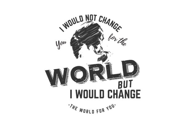 Print on Demand: I Would Not Change You for the World Graphic Illustrations By baraeiji