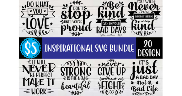 Inspirational SVG Bundle  By Craft Store