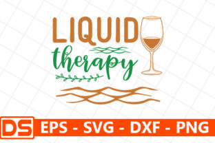 Print on Demand: Liquid Therapy Graphic Print Templates By Design Store