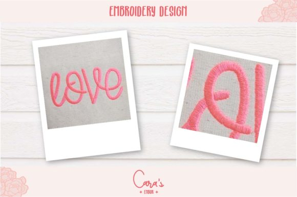 Love Embroidery Item