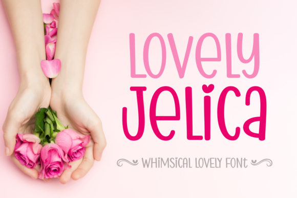 Print on Demand: Lovely Jelica Display Font By Jasm (7NTypes)