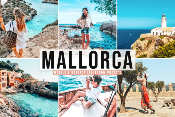 Print on Demand: Mallorca Pro Lightroom Presets Graphic Actions & Presets By Creative Tacos