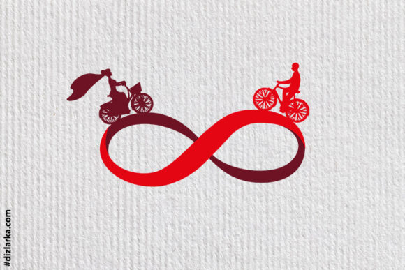 Print on Demand: Man and Woman, Infinity, Endless Love Graphic Crafts By dizlarka