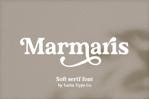 Print on Demand: Marmaris Serif Font By Pasha Larin