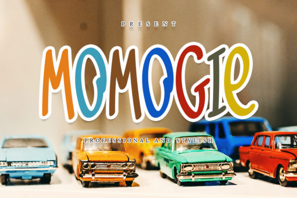 Print on Demand: Momogie Display Font By FL Space