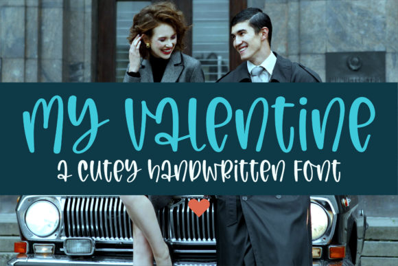 Print on Demand: My Valentine Script & Handwritten Font By BitongType