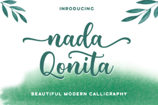 Print on Demand: Nada Qonita Script & Handwritten Font By Ghuroba Studio