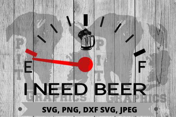 Need Beer Graphic Crafts By Pit Graphics