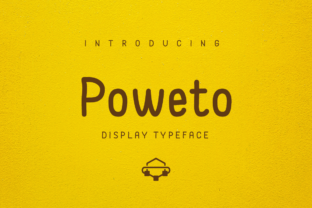 Print on Demand: Poweto Font By Amru