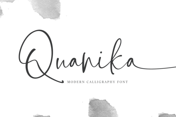 Print on Demand: Quanika Script & Handwritten Font By Artisans