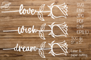 Rose SVG, Valentine's, Valentine's SVG Graphic Crafts By Createya Design