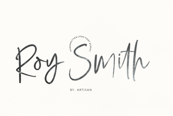 Print on Demand: Roy Smith Script & Handwritten Font By Artisans