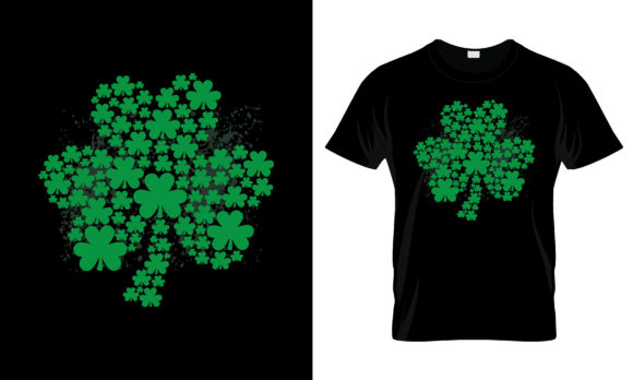 Print on Demand: St Patrick's Day T Shirt Design Eps 29 Graphic Print Templates By merchbundle