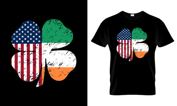 Print on Demand: St Patrick's Day T Shirt Design Eps 34 Graphic Print Templates By merchbundle