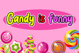 Print on Demand: Sweet Candy Display Font By Bluestype Studio 2