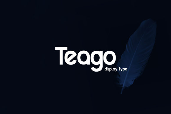 Print on Demand: Teago Sans Serif Font By Extumus