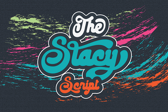 Print on Demand: The Stacy Script & Handwritten Font By Black Lotus