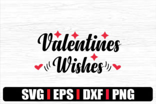 Print on Demand: VALENTINES WISHES Graphic Print Templates By svg.in.design