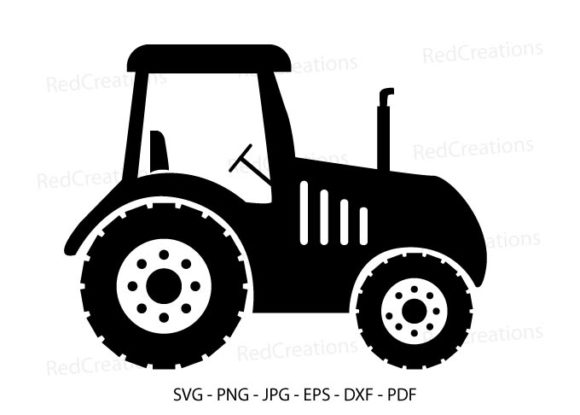 Farm Tractor Svg, Tractor, Farm Life Graphic Crafts By RedCreations