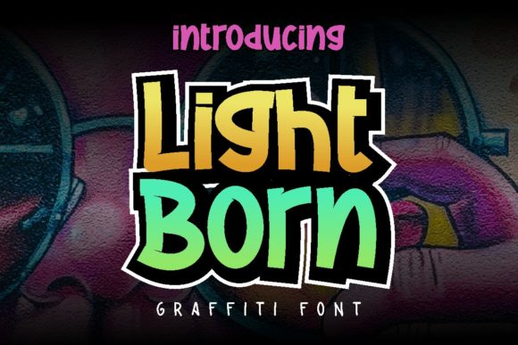 Print on Demand: Light Born Display Font By Pidco.art