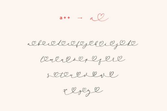 Little Love Font Font