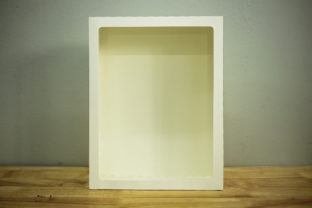 Print on Demand: Paper Frame Retangle - Paper Cut Gráfico Shadow Box en 3D Por LightBoxGoodMan