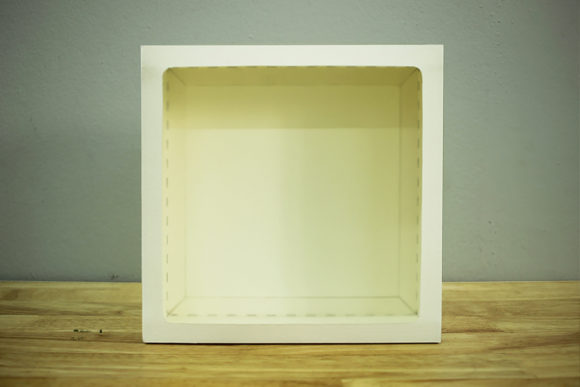 Print on Demand: Paper Frame Square - Paper Cut Light Box Graphic 3D Shadow Box By LightBoxGoodMan