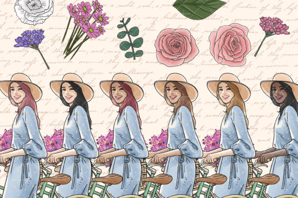 Spring Clipart Graphic Illustrations By SincerelyNix