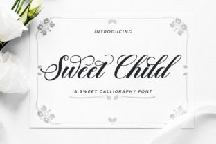 Print on Demand: Sweet Child Script & Handwritten Font By LetterFreshStudio