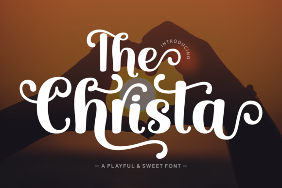 Print on Demand: The Crista Script & Handwritten Font By Jasm (7NTypes)