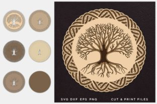 Tree of Life Svg, 3d, Cut File Tree of L Graphic 3D SVG By 2dooart