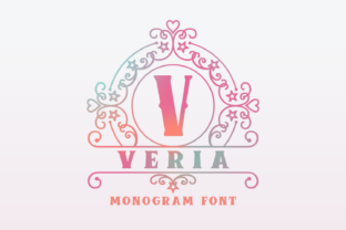 Print on Demand: Veria Decorative Font By Jasm (7NTypes)