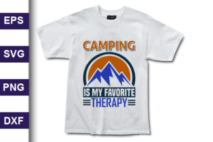 Print on Demand: Adventure Svg Design, Camping is My Graphic Print Templates By MR_Graphics
