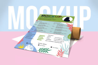 Paper Psd Mockup Graphic Product Mockups By iyhulmonsta