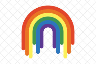Print on Demand: Rainbow Graphic Icons By hinad4467